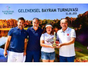 Bakan Çavuşoğlu Golf Turnuvasına Katıldı