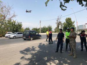 Jandarmadan Drone İle Trafik Denetimi