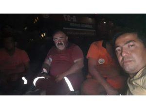 Samandağ'da Çıkan Yangın Kontrol Altına Alındı