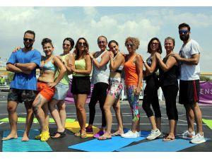 Spor Ve Müzik Festivali Yogayla Başladı