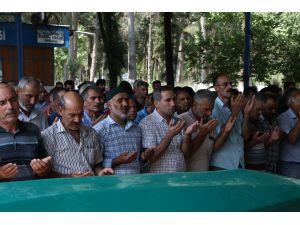 Denizde Boğularak Ölen Baba İle Oğlu Gözyaşları Arasında Toprağa Verildi