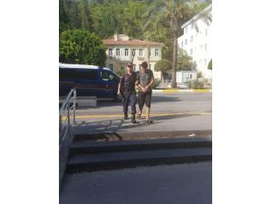 Turistin Çantasını Çalan Şüpheli Yakalandı