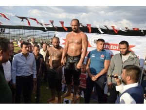 Burdur'da Başpehlivan Ali Gürbüz