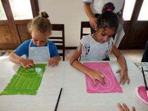 Kaş'ta Sanat Atölyesi Düzenlendi