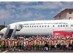 Yaz Spor Okulu Öğrencileri Antalya'yı Geziyor