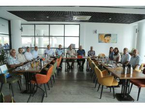 Mersin'deki Zabıta Müdürleri Mezitli'de Bir Araya Geldi