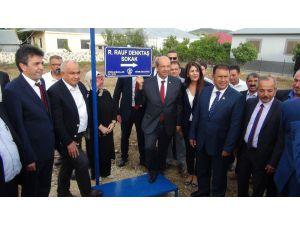Kktc Başbakanı Ersin Tatar Mersin'de