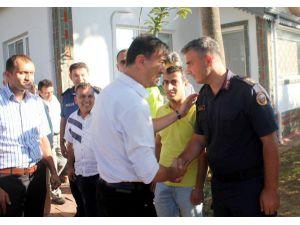 Kaymakam Sakar Ankara'ya Uğurlandı