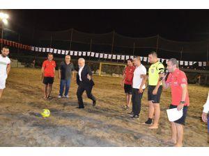 Tff Plaj Futbolu Ligi İskenderun Etabı Başladı