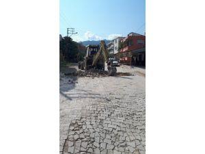 Samandağ'da Yol Çalışmaları