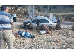 Kozan'da Otomobil İle Motosiklet Çarpıştı: 1 Ölü, 1 Yaralı