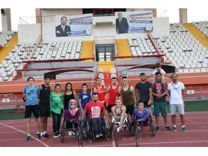 Bedensel Engelliler Atletizm Milli Takımı'nda Hedef Olimpiyatlarda Madalya Kazanmak