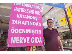 Antalya'da Bir Hayırsever, Veresiye Borçları Ödedi