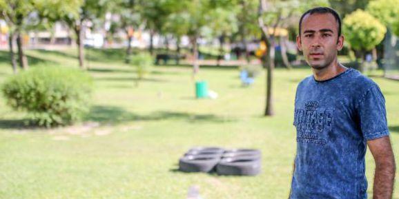 Bekçilik Hayali Kuran Kapıcı, Parkı Spor Parkuruna Çevirdi