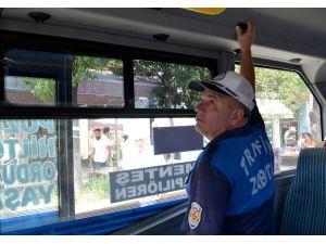 Toplu Taşıma Araçlarında Klima Ve Açık Kapı Denetimi