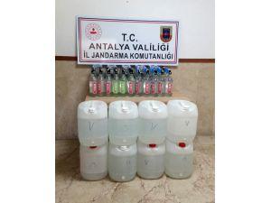 Manavgat'ta Sahte İçki Operasyonu