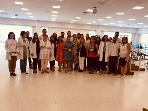 Şehir Hastanesi'nde Dünya Fizyoterapistler Günü Kutlandı