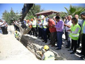 İmamoğlu İçme Suyu Projesi'nin Yapımına Yeniden Başlandı