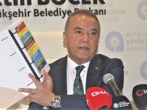 Böcek'ten Erdoğan'a Antalya dosyası