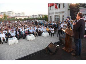 Seçer, Tarsus'ta 'Aşure Lokması' Etkinliğine Katıldı