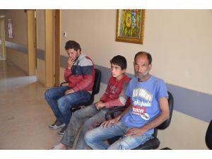 Hatay'da 15 Kaçak Göçmen Yakalandı