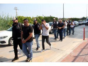 Çıkar Amaçlı Suç Örgütü Operasyonunda 6 Zanlı Adliyeye Sevk Edildi