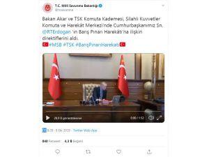 Cumhurbaşkanı Erdoğan'dan Barış Pınarı Harekatı'na İlişkin Direktifler