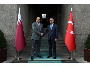 Millî Savunma Bakanı Akar, Katar Savunma Bakanı Attiyah İle Telefonda Görüştü