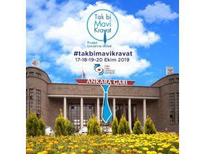 Ankara Garı Prostat Kanseri İçin Mavi Kravat Takacak