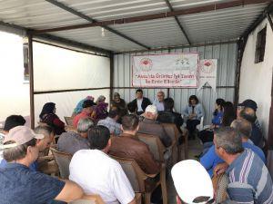 Antalya'da iyi tarım uygulamaları yaygınlaşıyor
