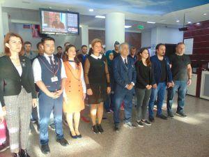 Denizli Özel Cerrahi Hastanesinde Ata'ya Özel Tören