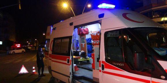 2 kişinin yaralandığı kazada sürücü kaçtı