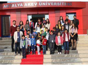 Türkiye'nin yarınlarına ışık olan üstün yetenekli çocuklar AKEV'de buluştu
