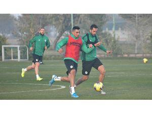 Konyaspor Beşiktaş Maçı Hazırlıklarına Yeniden Başladı