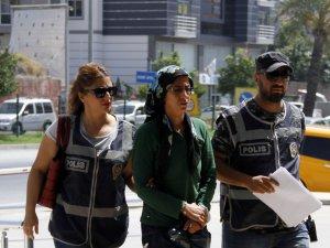 Terör örgütü üyesi kadın yakalandı