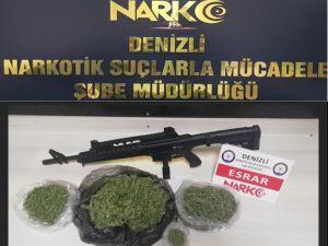 Denizli'deki Uyuşturucu Operasyonlarında 19 Tutuklama