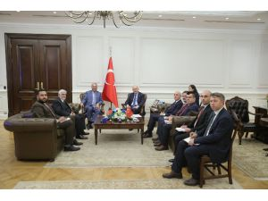İçişleri Bakanı Soylu, Afganistan Maliye Bakanı Kayumi İle Görüştü