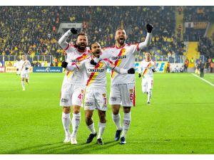 Süper Lig: Mke Ankaragücü: 1 - Göztepe: 1 (İlk Yarı)