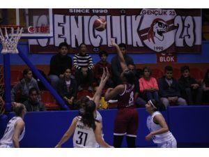 Kadınlar Basketbol Süper Ligi: Hatay Büyükşehir Belediyespor: 80 - Birevim Elazığ: 79