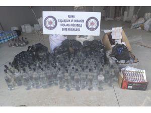 Adana'da 3 Litre Kaçak Viski Aroması Ele Geçirildi