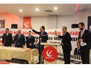 """Erbakan: """"Partimiz Türkiye Siyasetinin Bundan Böyle Alternatifsiz Olmadığını Ortaya Koymuştur"""""""