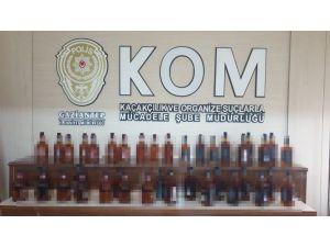 Gaziantep'te Yılbaşı Öncesi Sahte Alkol Operasyonu