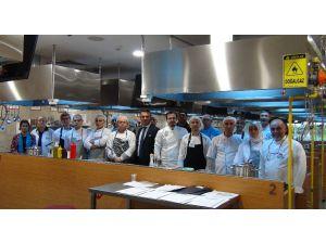 TEDAŞ aşçılarına mesleki yeterlilik belgesi