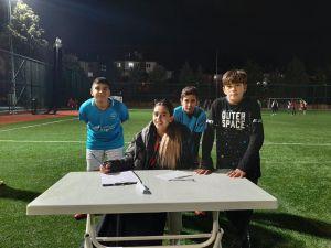 Kadın Eğitmenden Futbola Bilimsel Yaklaşım