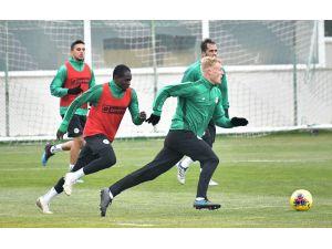 Konyaspor, Başakşehir Maçı Hazırlıklarına Devam Etti