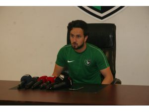 """Sedat Şahintürk: """"Tecrübe Eksikliğimi Çalışarak Kapatmaya Çalışıyorum"""""""