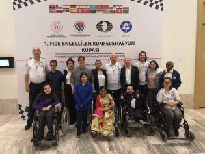 Fıde Engelliler Konfederasyon Kupası'nın Şampiyonu Avrupa Takımı Oldu