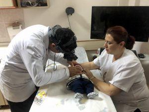 Erken Doğan Ediz Bebek Kör Olmaktan Lazer Tedavisiyle Kurtuldu