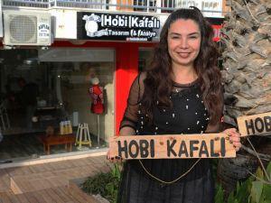 Kadın girişimci hobisini işe dönüştürdü