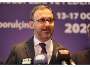 """Bakan Kasapoğlu: """"İnşallah Sorunları Hatalarla Yüzleşerek Çözeceğiz"""""""